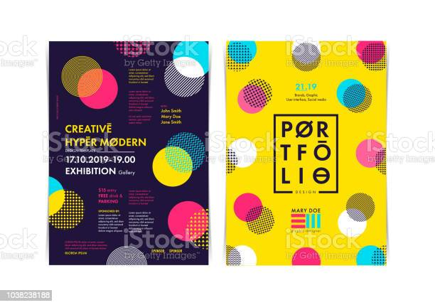 Set of flyer templates with geometric shapes and patterns 80s style vector id1038238188?b=1&k=6&m=1038238188&s=612x612&h=tc7nvvb a72pm6tns r gla7wtxw7d ajy88wlxolzw=