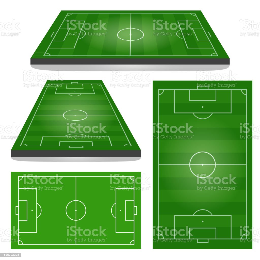 Set of Football Fields