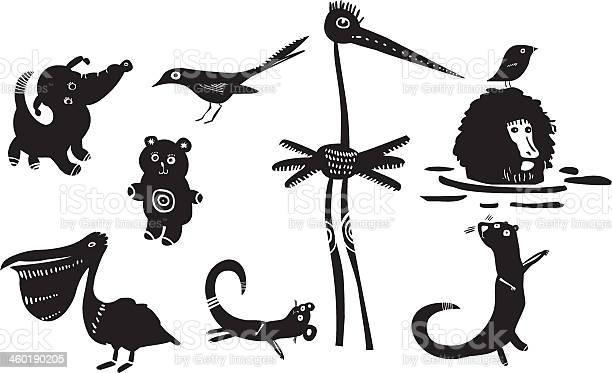 Set of funny animals vector id460190205?b=1&k=6&m=460190205&s=612x612&h=23njo4w jbm2yk97vz8devw5zklkb4ovv2eylkxx0gw=