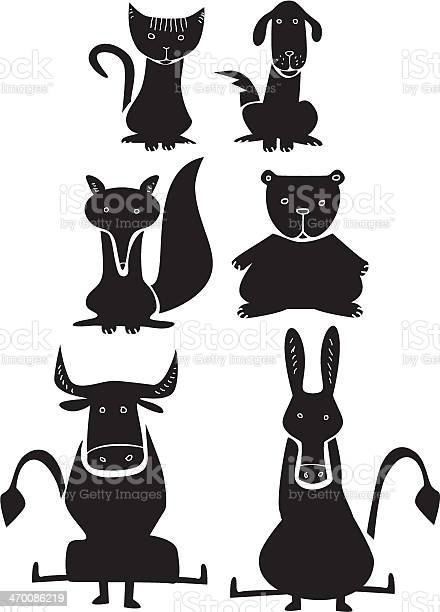 Set of funny animals vector id470086219?b=1&k=6&m=470086219&s=612x612&h=gj9ufuv9hn5kuvapo2vamb3avghnrp9pih glsdgxho=