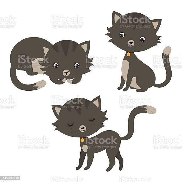 Set of funny cartoon cats vector id519490748?b=1&k=6&m=519490748&s=612x612&h=yenmdb55mxbz1dssitphoyinb kyt  a5zoc1xy5xdq=
