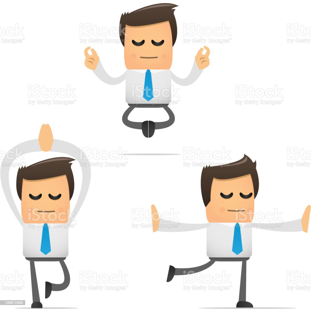 set of funny cartoon manager royalty-free set of funny cartoon manager stock vector art & more images of adult
