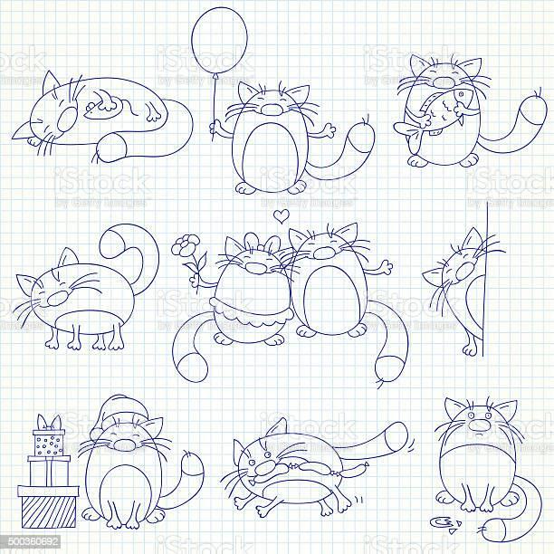 Set of funny cats vector id500360692?b=1&k=6&m=500360692&s=612x612&h=yrne 99kak6rgvigrzdsbvaizmtoh21kzpkwbqilgrk=