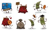 Set of funny monetary funds