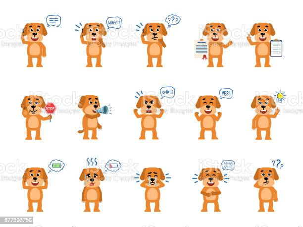 Set of funny yellow dog characters showing different actions vector id877393756?b=1&k=6&m=877393756&s=612x612&h=fcywm2h5s8 ury 4adhx7prgq3mncu2o0 5 bzhevu4=