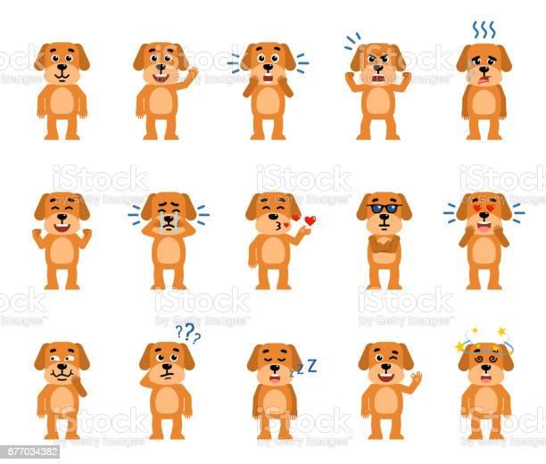Set of funny yellow dog characters showing different emotions vector id877034382?b=1&k=6&m=877034382&s=612x612&h=zpxj7xucqmqhzvfknsw1v7uwj2e4r5ncnlxijsvn3tm=