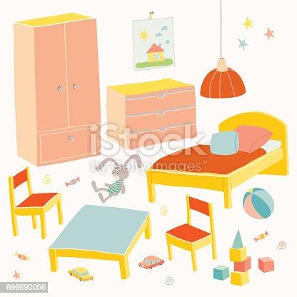 Conjunto de muebles para la habitaci n de los ni os los - Muebles habitacion nina ...