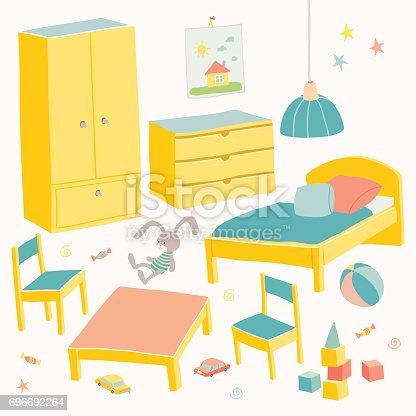Conjunto de muebles para la habitaci n de los ni os los for Muebles habitacion ninos
