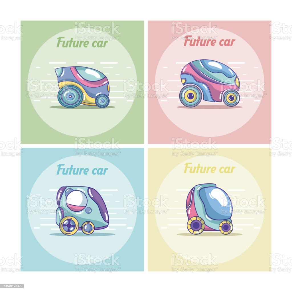 Set of future cars royalty-free set of future cars stock vector art & more images of above