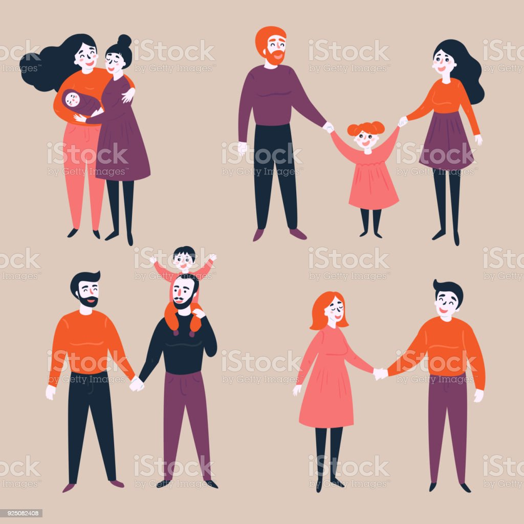 the many difference between gay families and the traditional families Traditional families vs non-traditional families  transcript of traditional families vs non-traditional  non-traditional families-significant difference in.