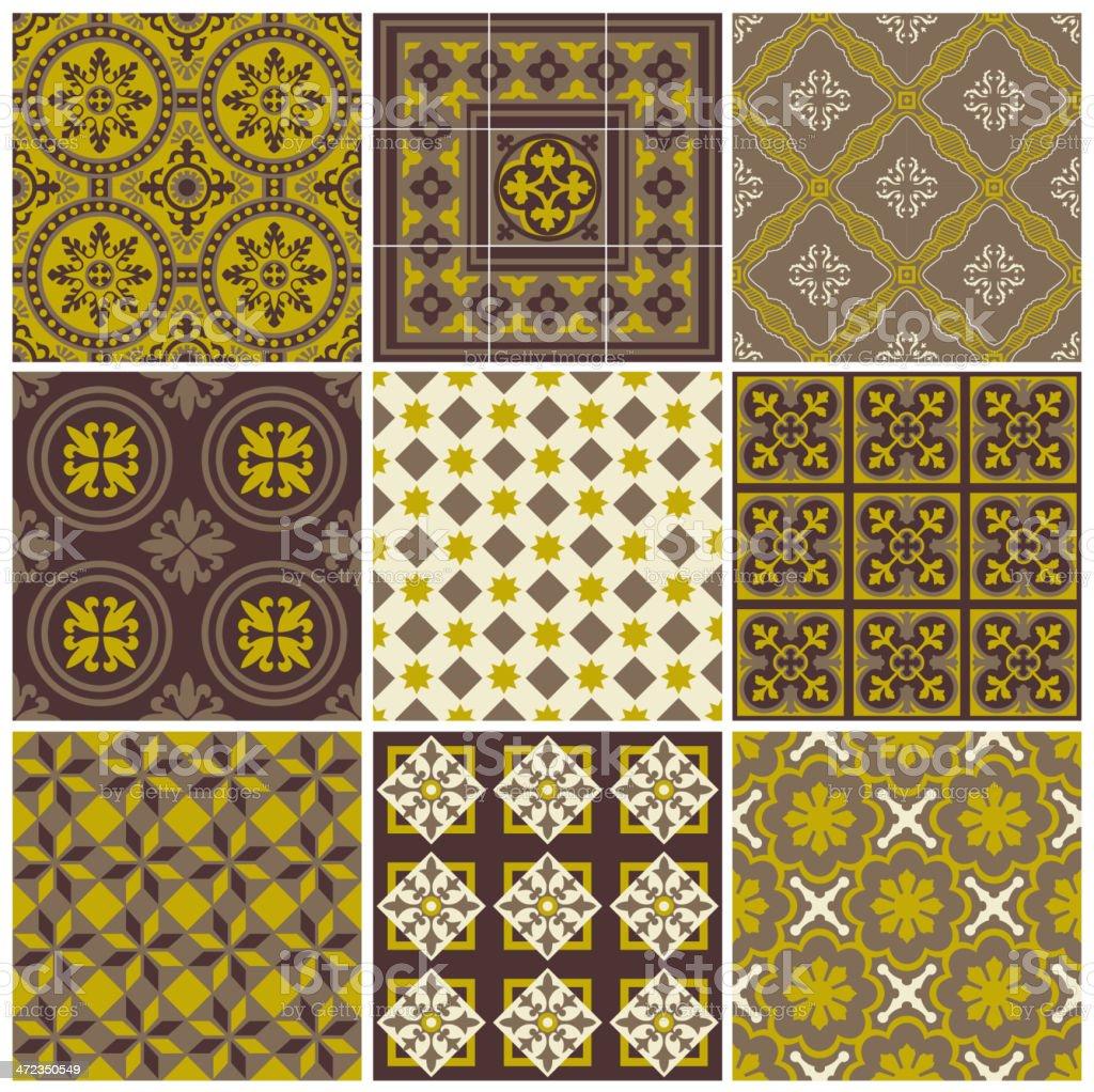 Set of Geometric Background royalty-free set of geometric background stock vector art & more images of backgrounds