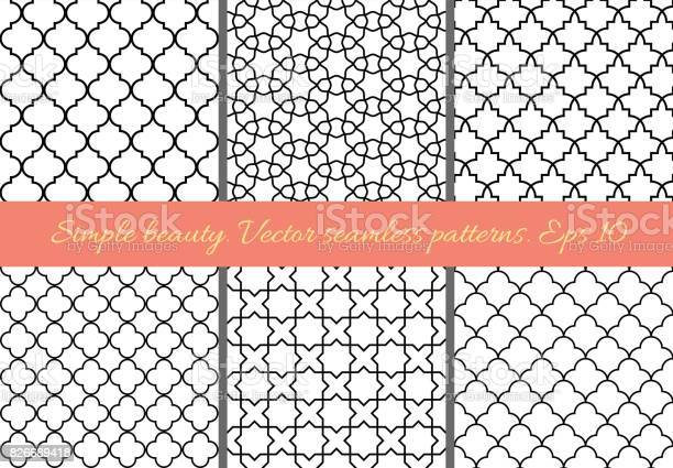 Set of geometric seamless patterns in oriental style vector id826689418?b=1&k=6&m=826689418&s=612x612&h=2rds6ox5 fcxzcem8r3y72lqrs1ddhlsjwo bqmt 3q=
