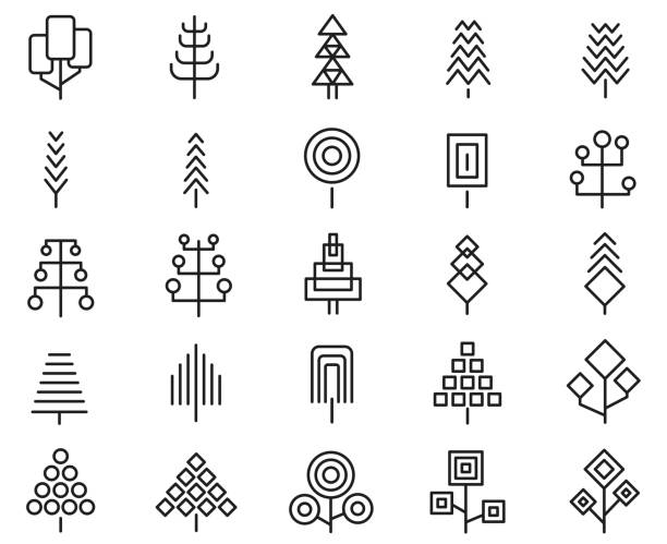 Pine Tree Icons 307 Free Pine Tree Icons Download Png Svg