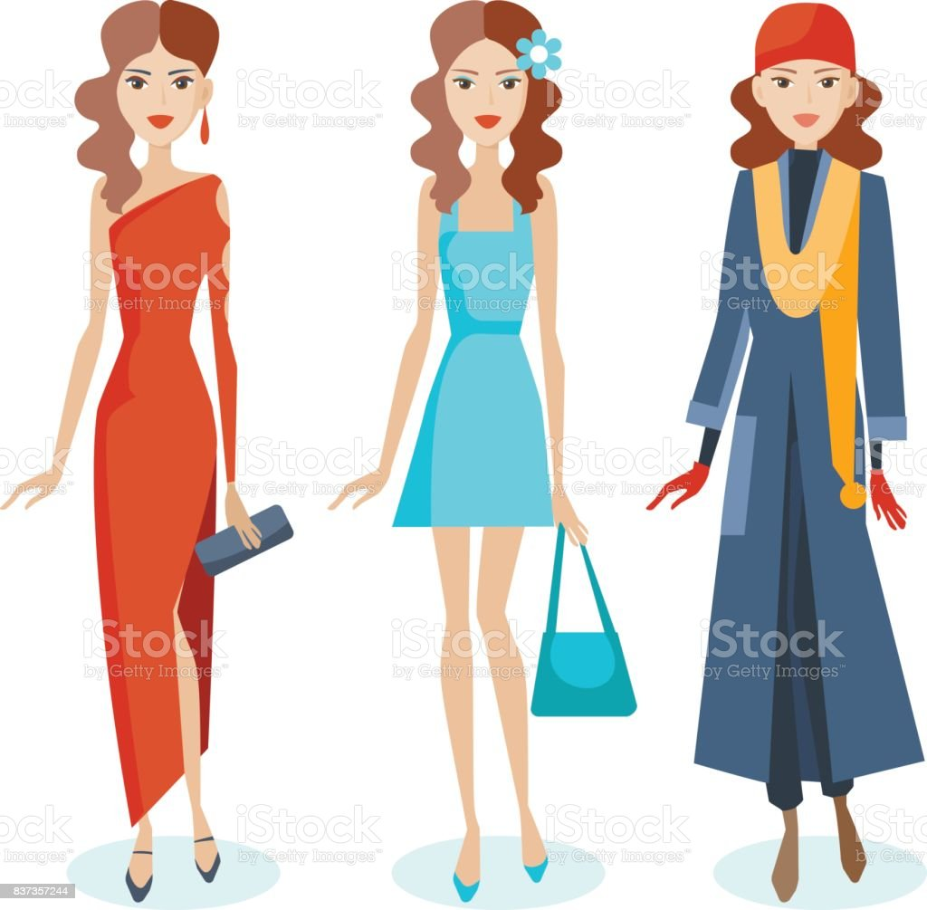 Feminine and stylish: sarafan, dress and accessories to them