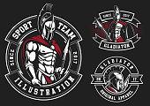 Set of gladiators
