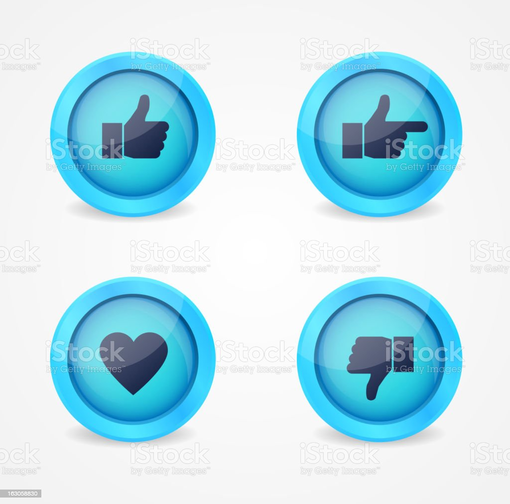 Set of glossy internet icons royalty-free set of glossy internet icons stock vector art & more images of admiration