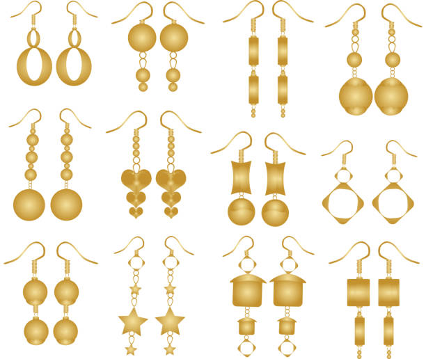 One Earring Clipart