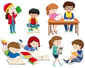 A Set of Good Students  illustration