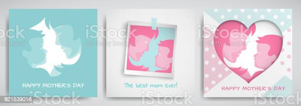 Set of green and pink greeting cards for mothers day women and baby vector id921539016?b=1&k=6&m=921539016&s=612x612&h=ix bht0bduv21rw45p703qbykuu pyi3z6lmns2ziru=