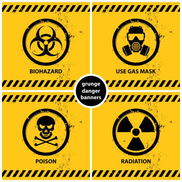 Royalty Free Radioactivity Symbol Of Radioactive Waste Logo Clip Art
