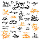 Set Of Halloween Gift Tags Vector Illustration Stock Illustration Download Image Now Istock