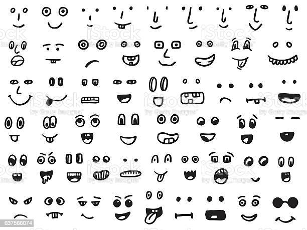 Set of hand drawn funny faces vector id637566074?b=1&k=6&m=637566074&s=612x612&h=ckefygpxuxes ivaqpjjq7hl3mdr9jtnr7o2t6f0ukg=