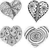Black Tribal Heart Clip Art Download 1,000 clip arts (Page