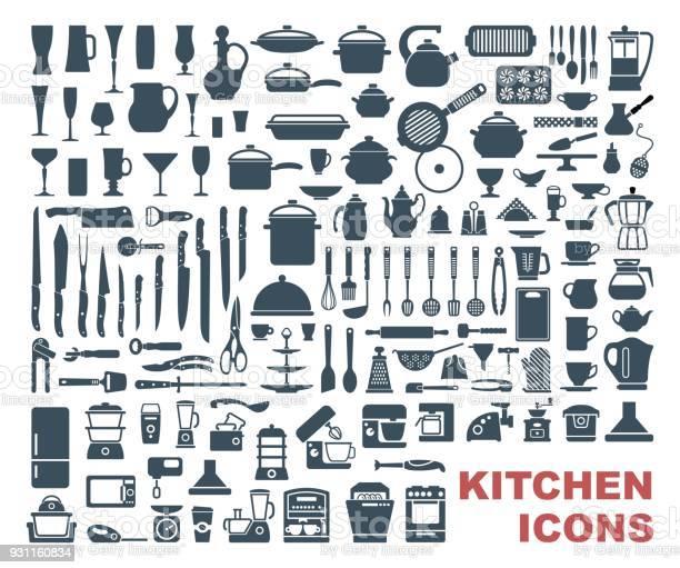 Av Högkvalitativa Kök Ikoner-vektorgrafik och fler bilder på Bordskniv