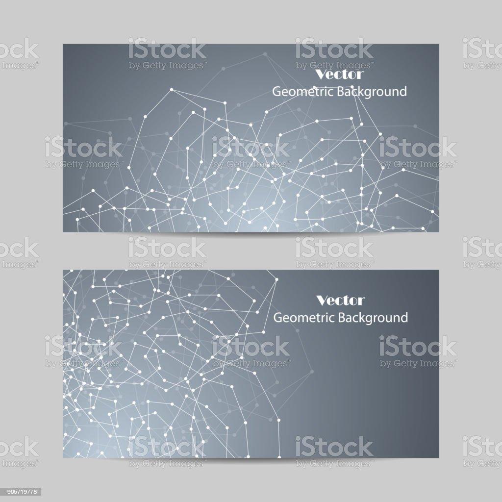 Set of horizontal banners. - Векторная графика Абстрактный роялти-фри