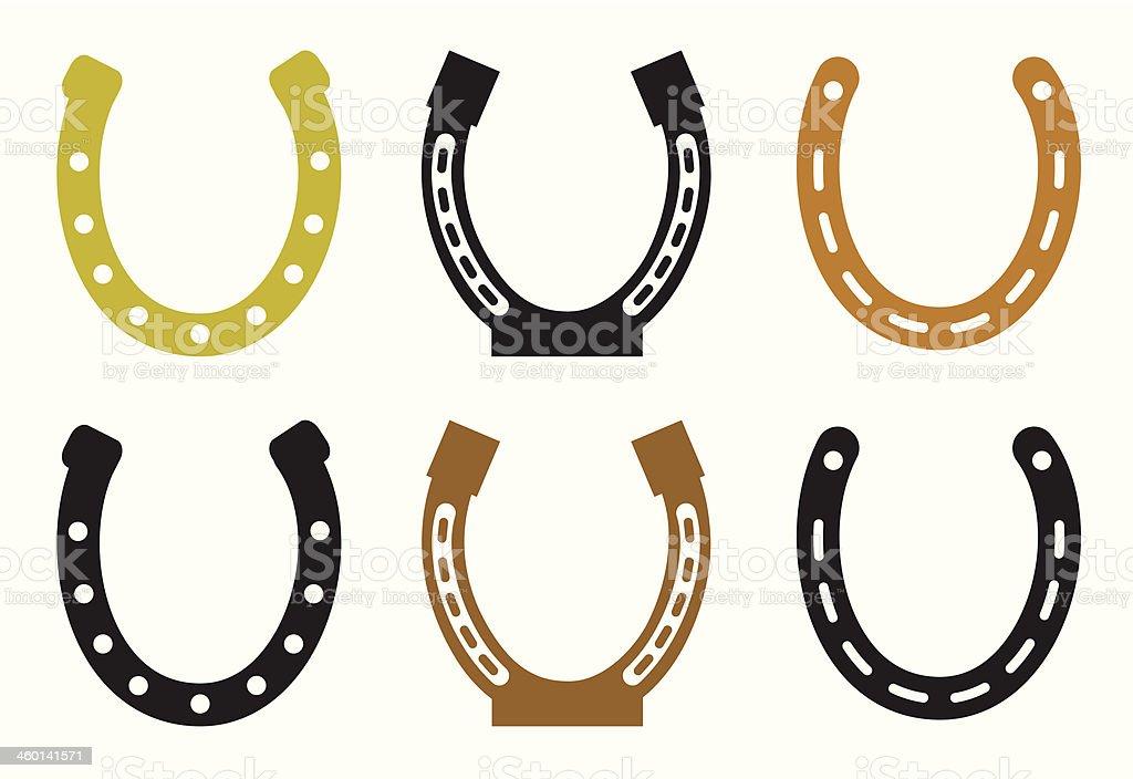 Set of horseshoe