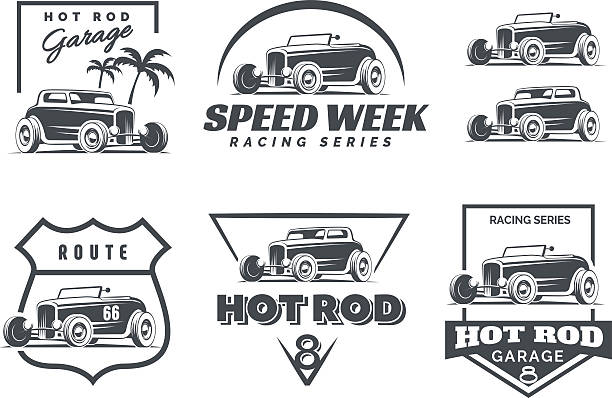 Royalty Free Hot Rod Clip Art, Vector Images & Illustrations - iStock