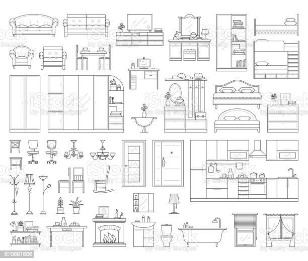 Set of house interior furniture vector id670661606?b=1&k=6&m=670661606&s=612x612&h=i80l9fvhsvd0uves 2iecd5bybqcweralb w15icjye=