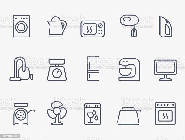 Set of household appliances icons vector id537902032?b=1&k=6&m=537902032&s=612x612&h=shmjpncc9pjymozumwnzezd9yz oqnmf7etwfkvffxi=