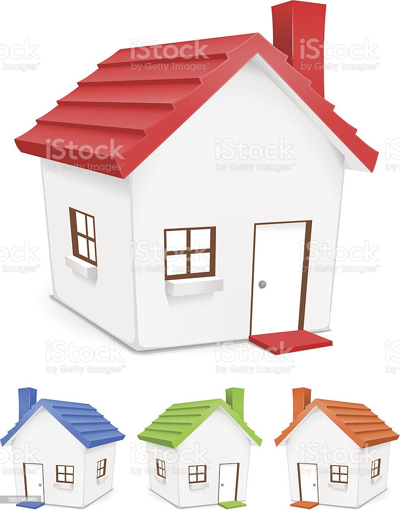 Set of houses (for residential, housing, or real estate designs) royalty-free set of houses stock vector art & more images of apartment