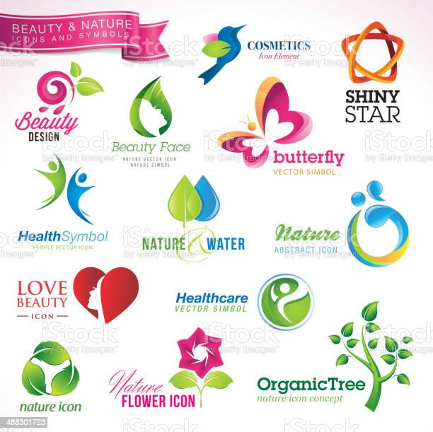 Set of icons and symbols for beauty and nature vector id488301723?b=1&k=6&m=488301723&s=612x612&h=yphhhhdsf8cf 27ct39fdjf6mnu5ua8ra1vh5nkmpn0=