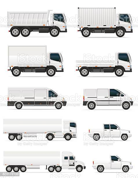 Set of icons cars and truck for transportation cargo vector id524173133?b=1&k=6&m=524173133&s=612x612&h=6goiyqga57sskw pxaomhq53gfkz0cbpictb9lndwp0=