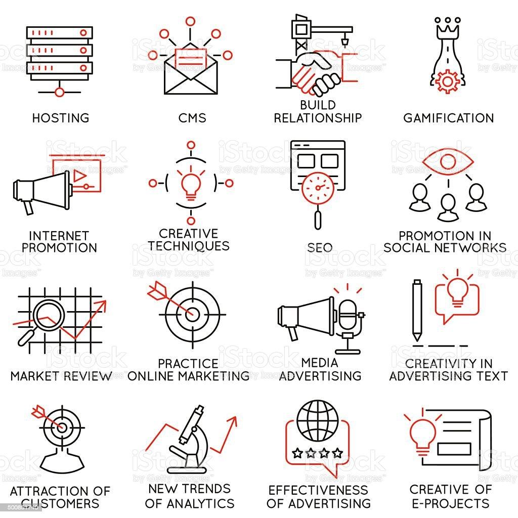 Reihe von icons, die Bezug auf business management-Teil 32 Lizenzfreies reihe von icons die bezug auf business managementteil 32 stock vektor art und mehr bilder von abmachung