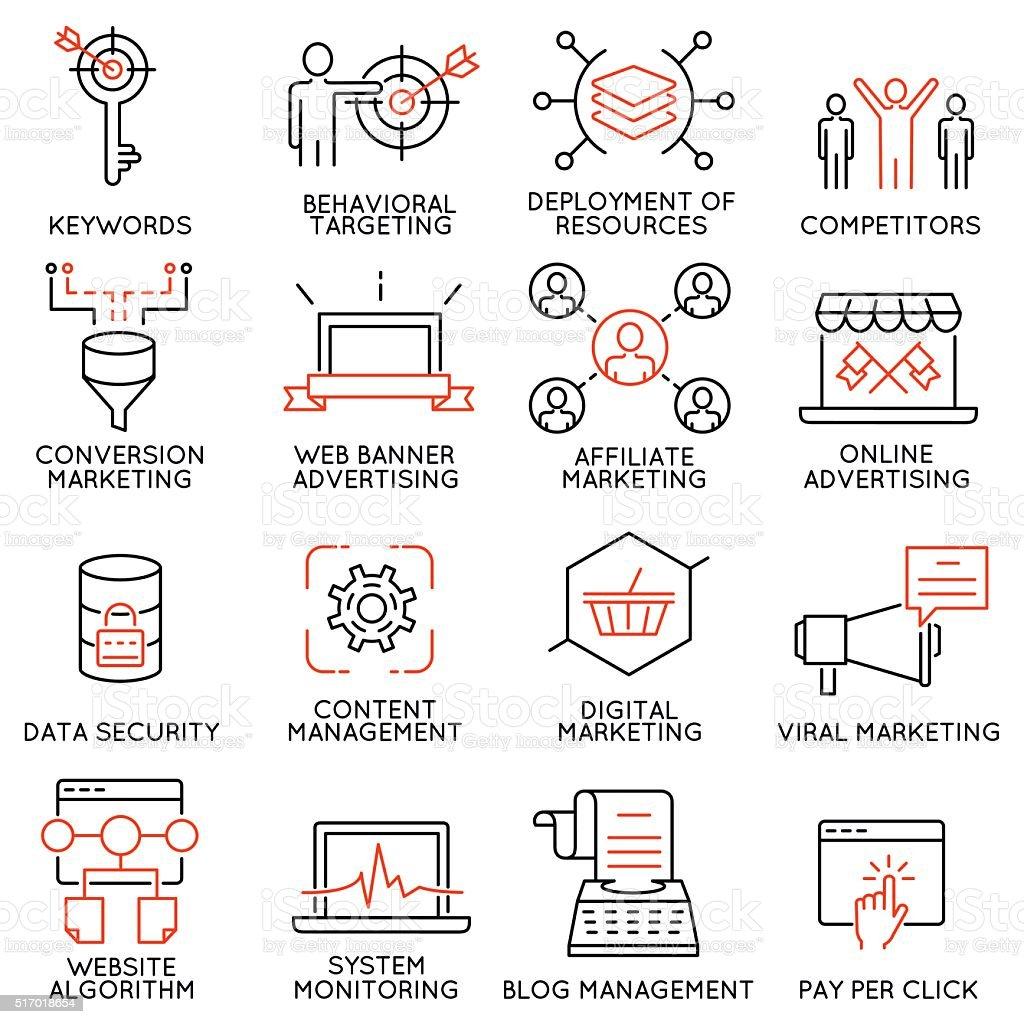 Reihe von icons, die Bezug auf Geschäft management-Teil 45 Lizenzfreies reihe von icons die bezug auf geschäft managementteil 45 stock vektor art und mehr bilder von aktivitäten und sport