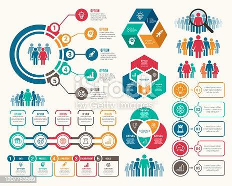 istock Set of Infographic Elements 1207753589