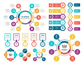 istock Set of Infographic Elements 1253238412
