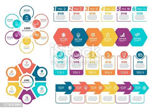 istock Set of Infographic Elements 1278053864