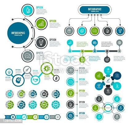 istock Set of Infographic Elements 1284923096