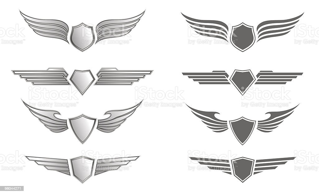 Set of Insignias royalty-free set of insignias stock vector art & more images of antique