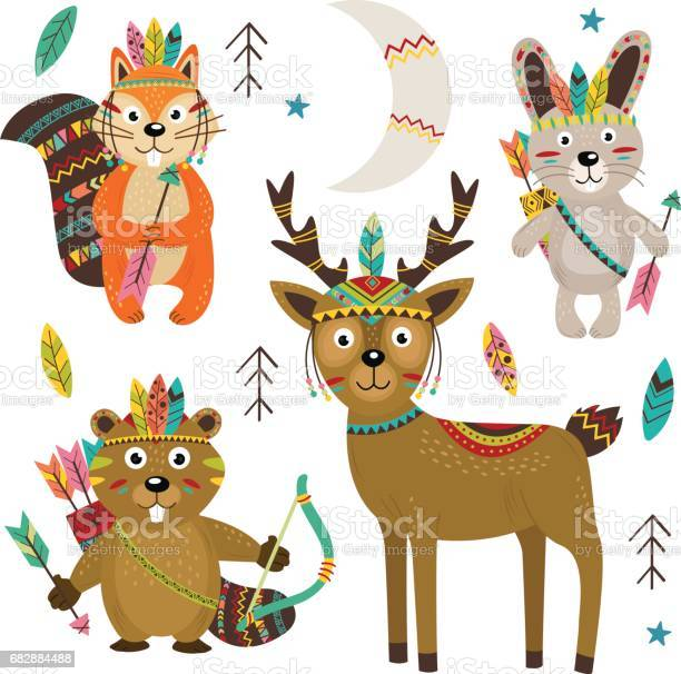 Set of isolated tribal animals part 2 vector id682884488?b=1&k=6&m=682884488&s=612x612&h=aoasexahzxh5fahf8tipikhokvspumsauwdfufcnolm=