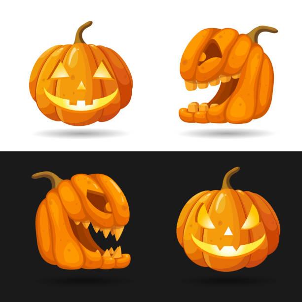 Halloween Pumpkin Images Clip Art.Best Halloween Pumpkin Illustrations Royalty Free Vector