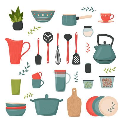 Set of kitchen accessory