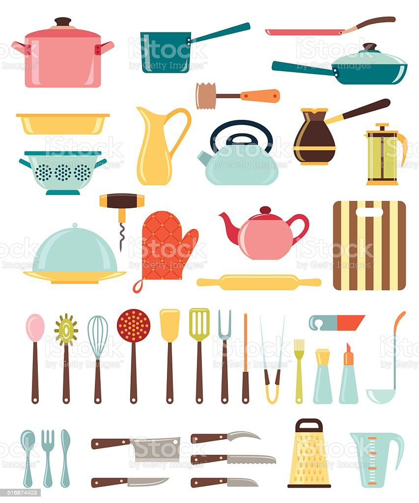 Royalty Free Cooking Utensil Clip Art, Vector Images