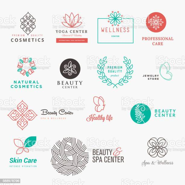 Set of labels and badges for beauty cosmetics spa and wellness vector id588978296?b=1&k=6&m=588978296&s=612x612&h=fqhbas 5iitetqi87i3saij6x3lb4defolfe xa1s78=