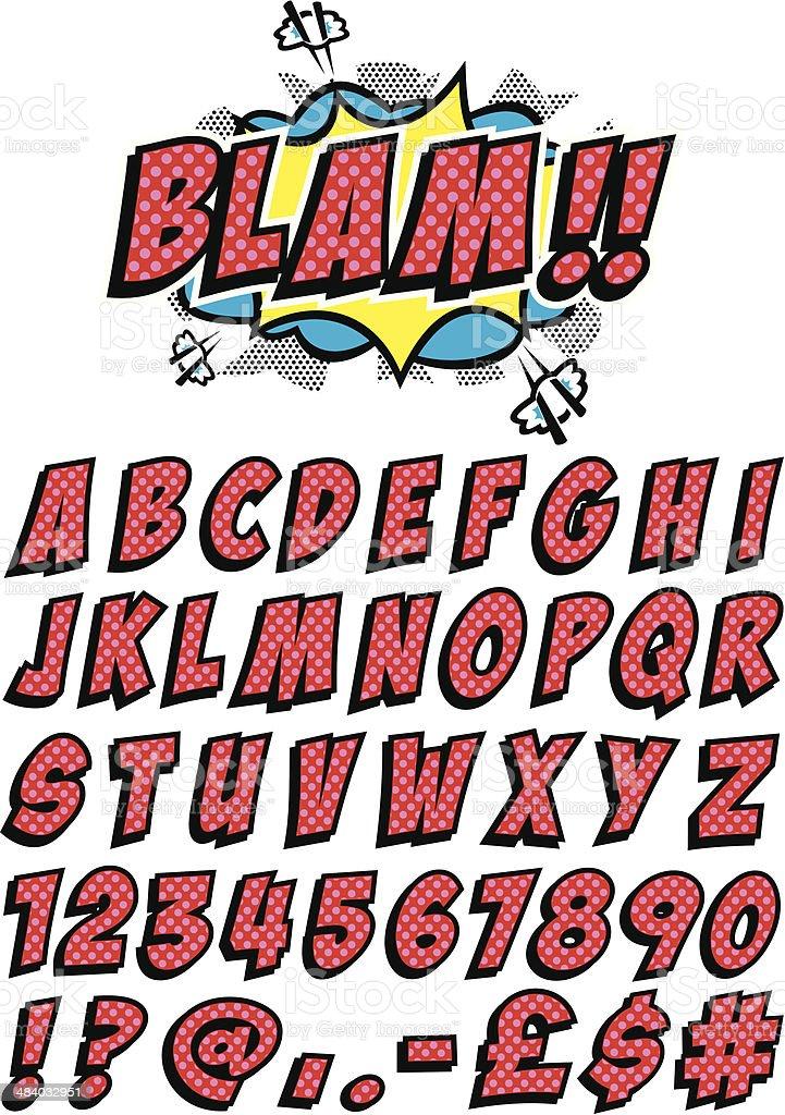 Free Comic Fonts Lettering