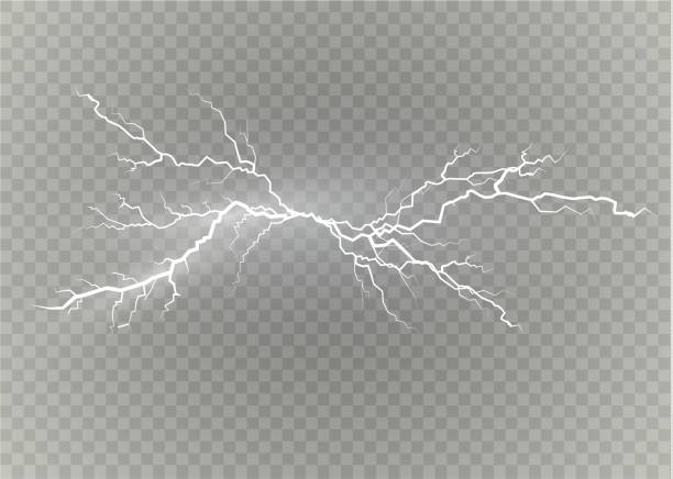 A set of lightning Magic and bright light effects. Vector illustration. Discharge electric current. Charge current. Natural phenomena. Energy effect illustration. Bright light flare and sparks A set of lightning Magic and bright light effects. Vector illustration. Discharge electric current. Charge current. Natural phenomena. Energy effect illustration. Bright light flare and sparks. lightning stock illustrations